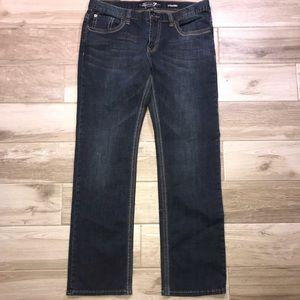 SEVEN 7 Mens Straight Leg Jeans